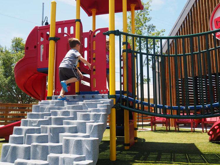 Foster Running Hat Creek Playground