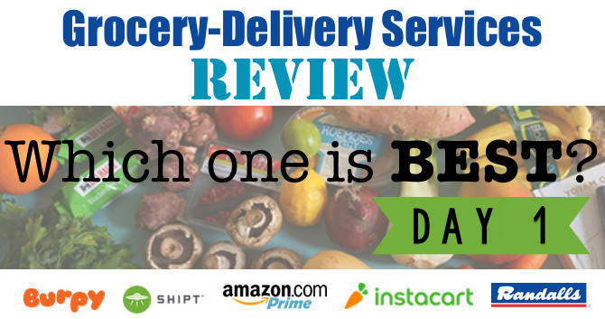 Grocery-Delivery Services Review – Day 1 Looking at Instacart