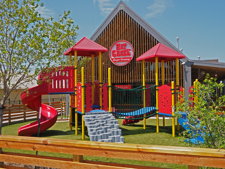 Hat Creek Playground Front