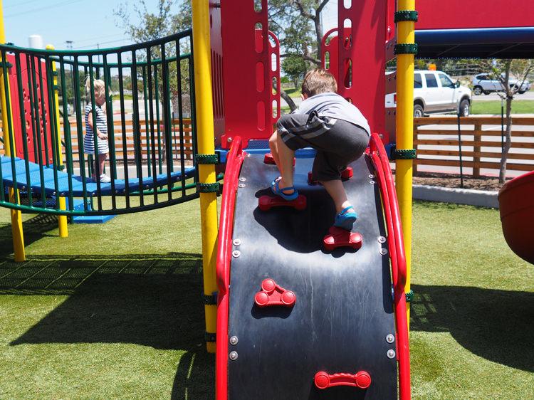 Foster Climbing Hat Creek Playground