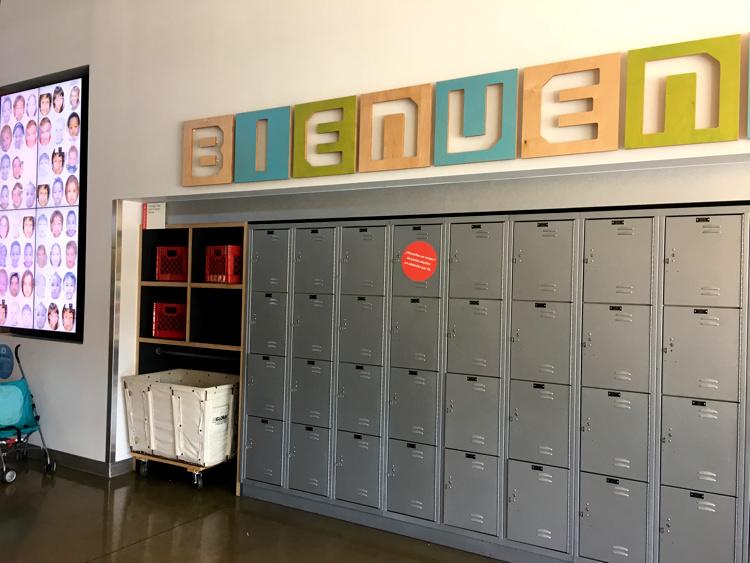 Thinkery lockers