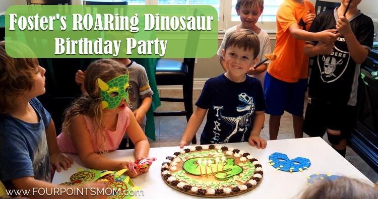 Foster's Roaring Dinosaur Birthday Party