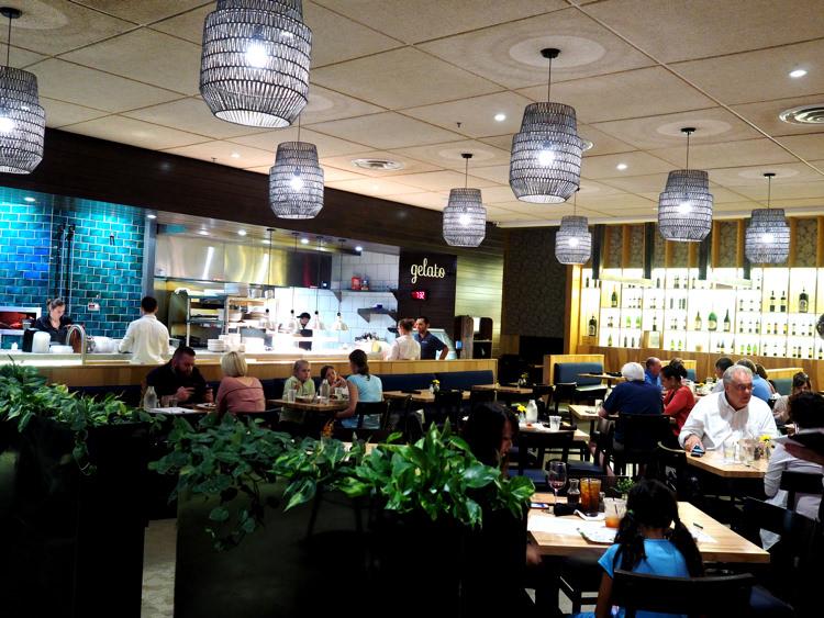 Napa Flats Inside Restaurant