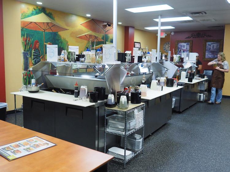 Dream Dinners Interior
