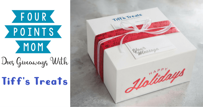 Four Points Mom Does Giveaways with Tiff's Treats