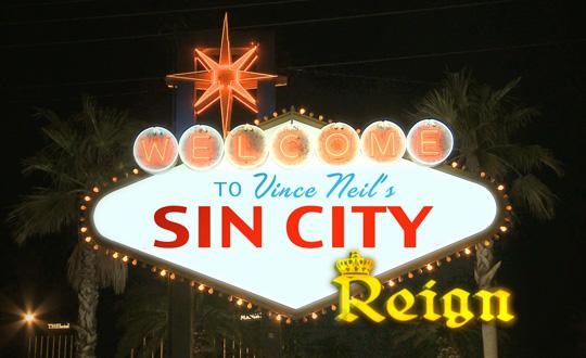 Vince Neil's Sin City Reign