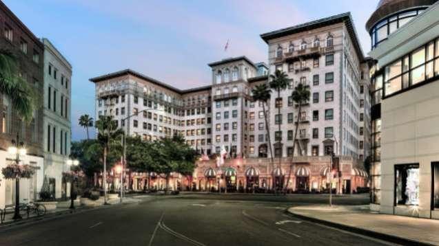 Отель в Лос-анджелесе Беверли Уилшир (Beverly Wilshire)