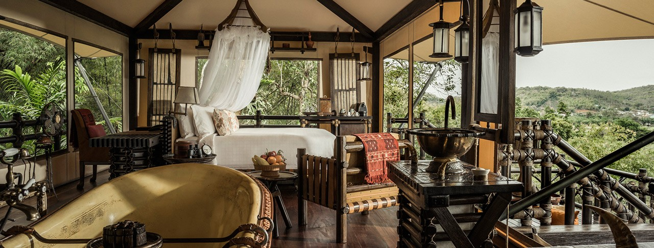 Image result for four seasons tented camp