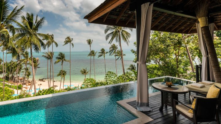 Image result for four seasons  koh samui