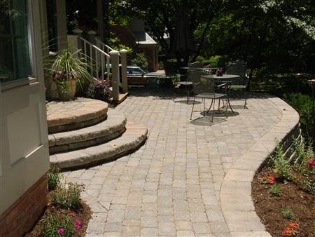 Brick Patios in Maryland (MD) | Brick Pavers | Design ... on Brick Paver Patio Designs  id=68046