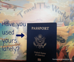 Is your passportcollecing dust-