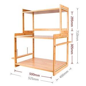 GYP Cuisine Four Grille Plancher Shelf Stent multifonction Shelf Storage Rack Four ( Couleur : D )