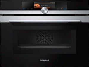 Siemens cm638grs1Four électrique/45l/micro-ondes intégrée/Acier inoxydable
