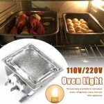 chifans 40W Lampe de four avec culot d'ampoule + ampoule G9 Jusqu'à 500°C Durée de vie de 2000 heures pour micro-ondes/four 220 V.