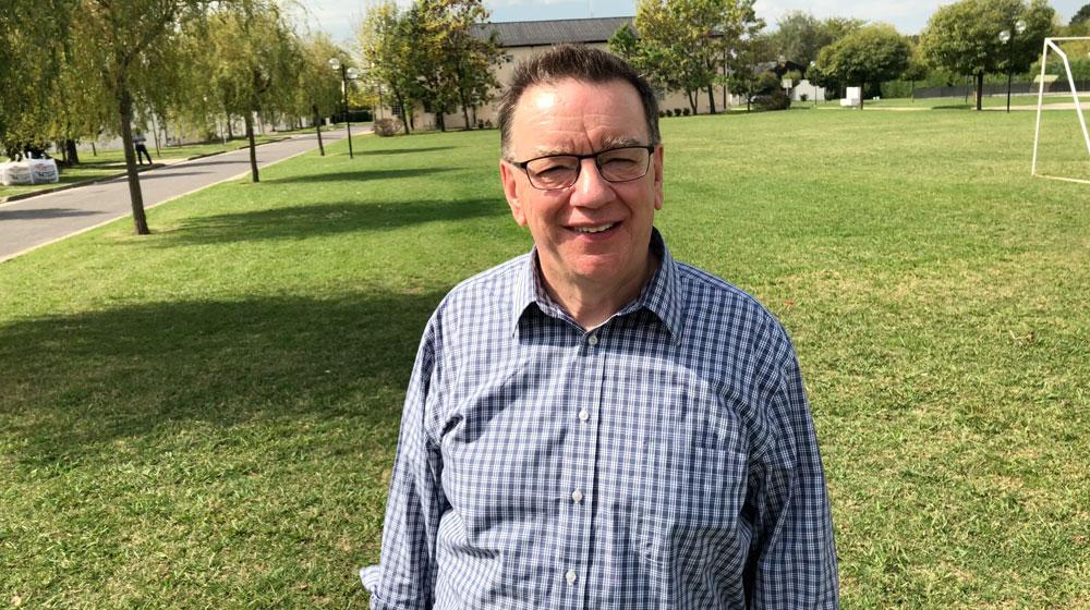 Pastor Peter Joudry