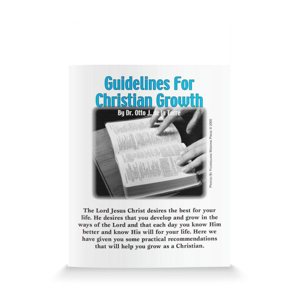 Guidelines For Christian Growth-English