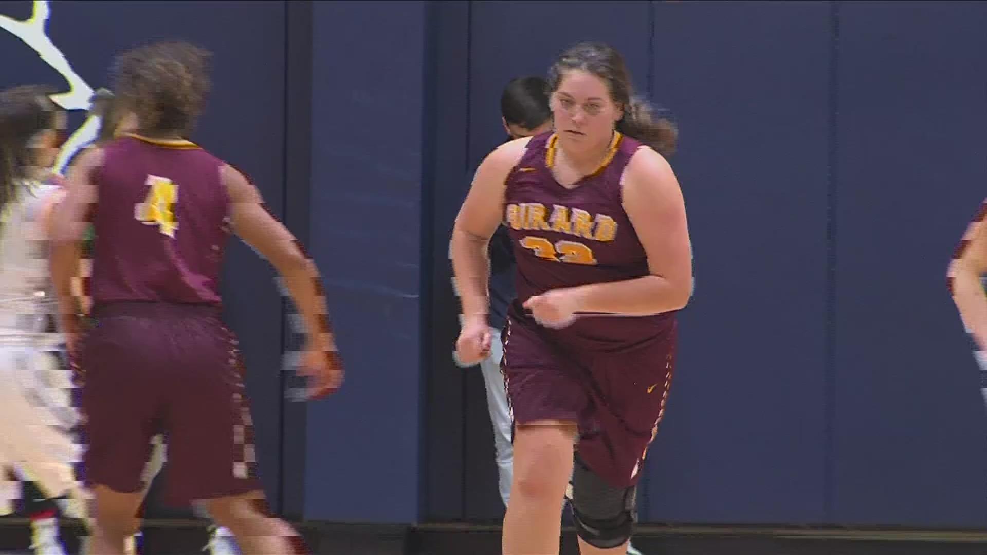 Girard Girls Basketball Takes Down Galena