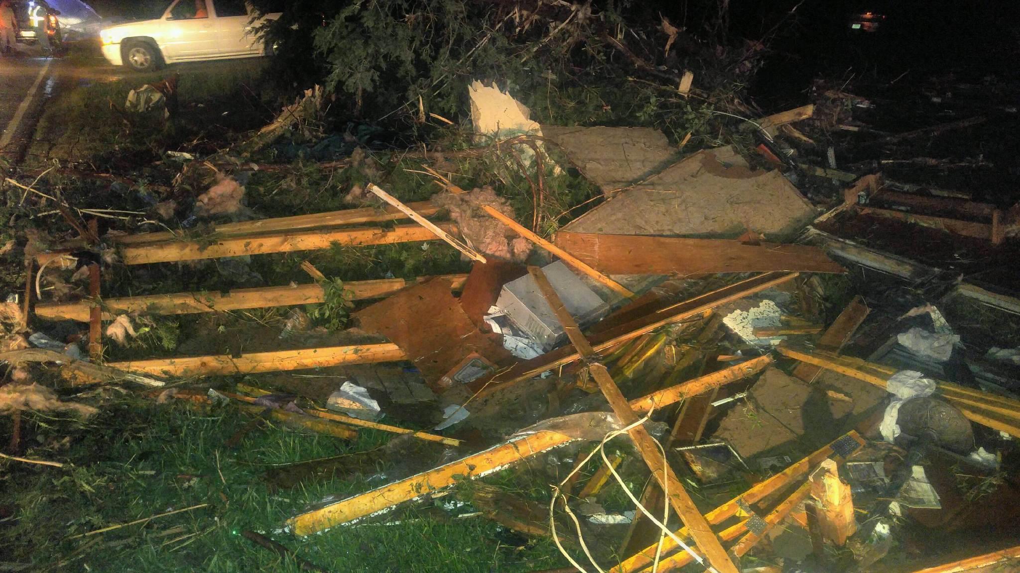 Three dead so far from possible tornado