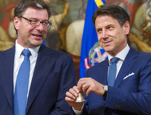 Giuseppe Conte, Giancarlo Giorgetti