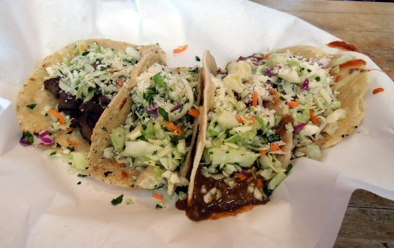 Assorted Tacos at Martins Comida Chingona on Fourth Avenue (credit: Martins Comida Chingona)