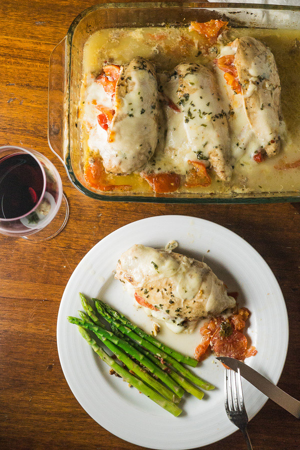 Stuffed Pizza Chicken