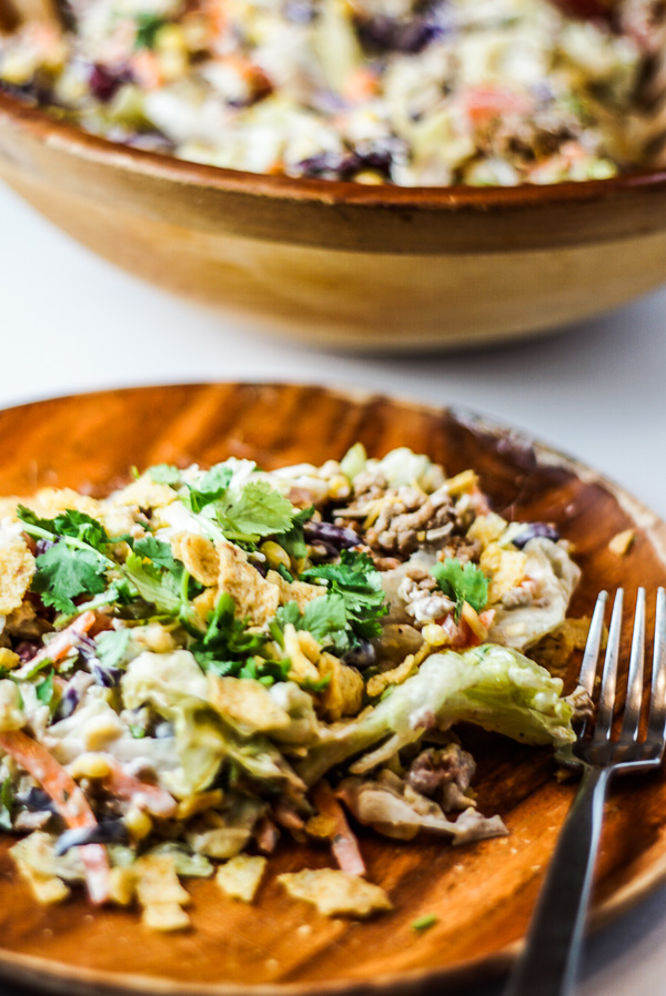 Taco Salad With Fritos Four To Cook For