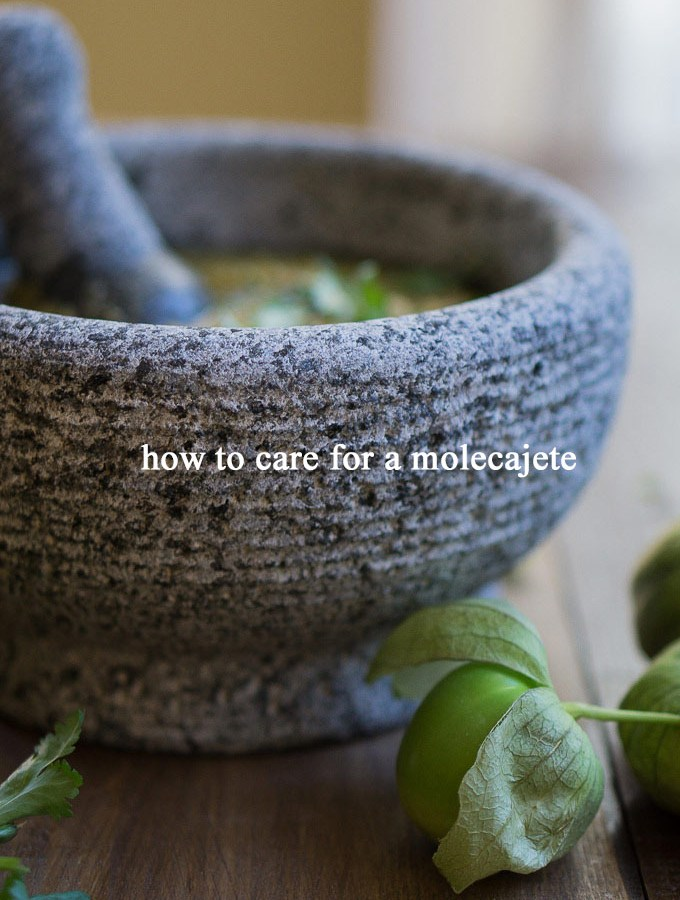 How to Care for a Molecajete