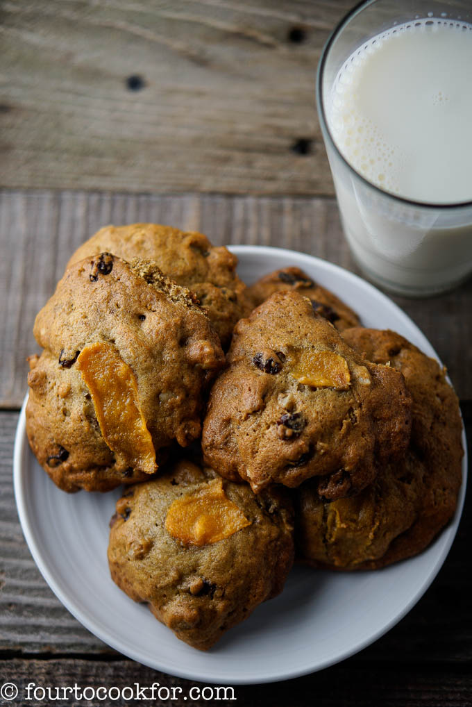 persimmon spice cookies