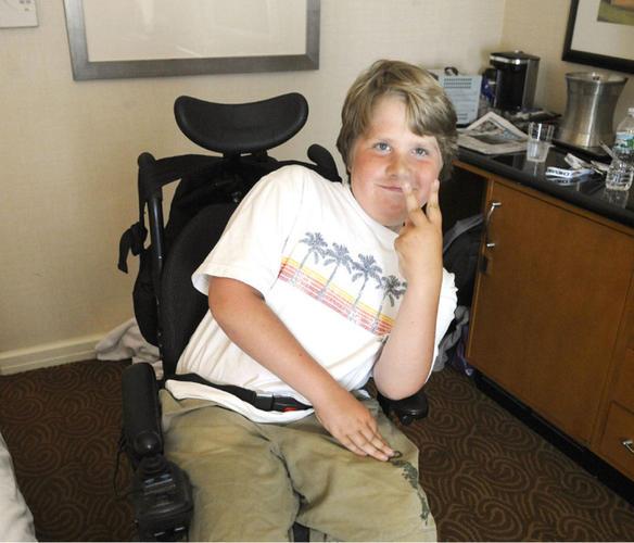 Boy Dystrophy Has Muscular