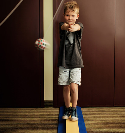 Foveal-Vision-Training-Boy-Using-Ball