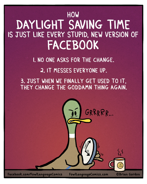 Funny Pictures Daylight Savings Time