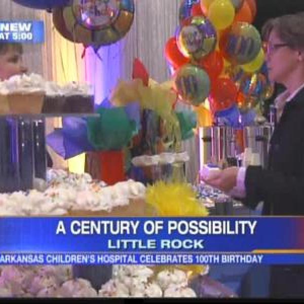 Arkansas Children's Hospital celebrates 100th birthday_7469308236779634787