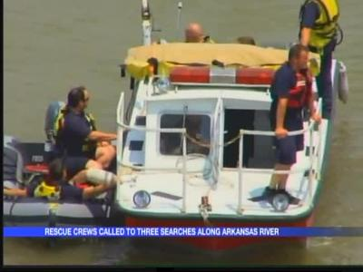 3 separate rescue efforts on Arkansas River Sunday_-5241957839974085494