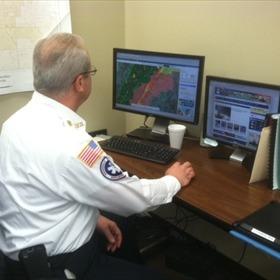 Cabot emergency team surveys severe weather_-1546228807578465748