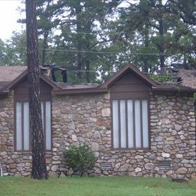 West Little Rock Lightning Damage_-5410459414641819579
