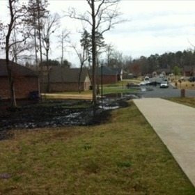 Lake Conway area oil spill_8749689352462421981