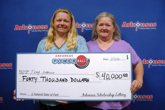 $40,000 Powerball Win for McGehee Woman
