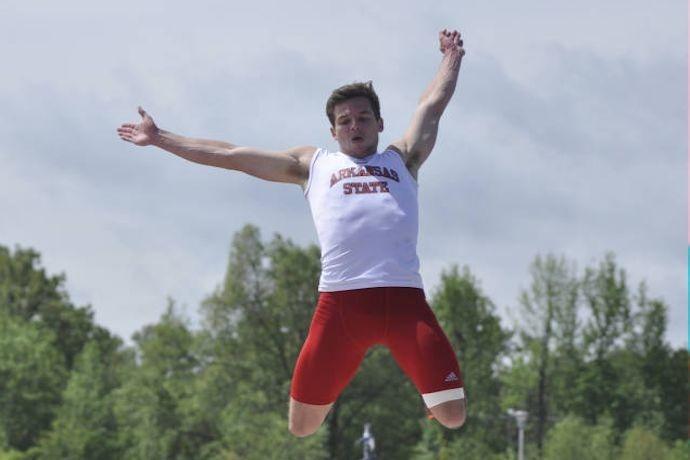 Roelf Pienaar, A-State Athletics_-5383617383419131438