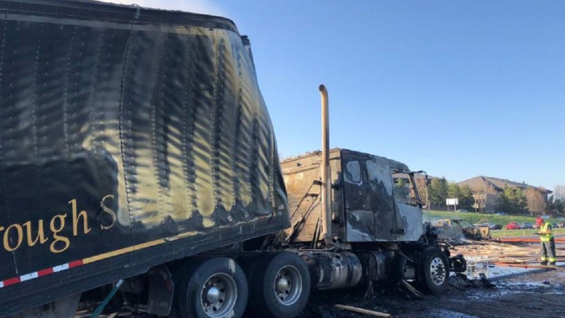 Several people died Thursday in a fiery crash involving multiple vehicles and three semitrailers.   (West Metro Fire Rescue)_1556299798759.jpg.jpg