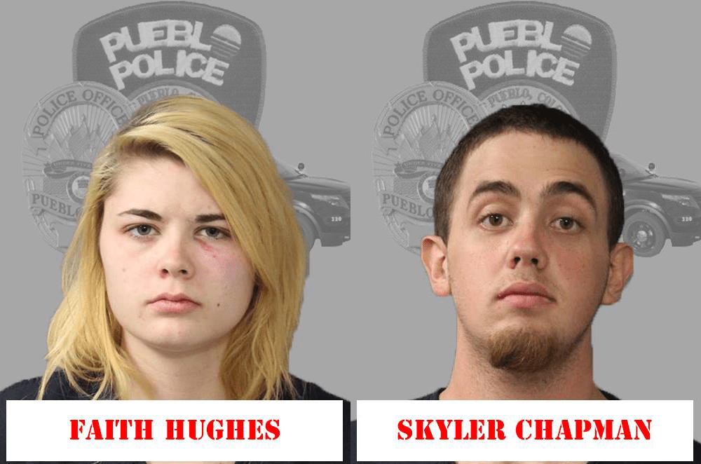 Faith Hughes and Skyler Chapman Pueblo Police Department