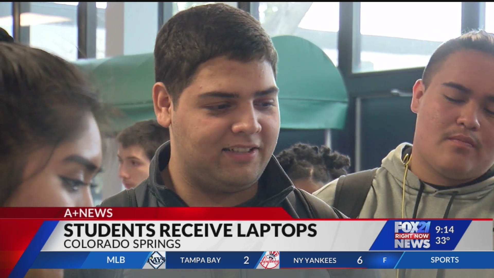 Pikes Peak United Way donates 75 laptops to Mitchell students
