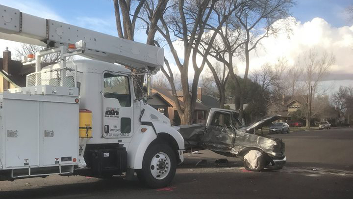 A driver was killed in a crash at the intersection of Jackson Street and West Adams Avenue in Pueblo Wednesday afternoon. Pueblo Police Department