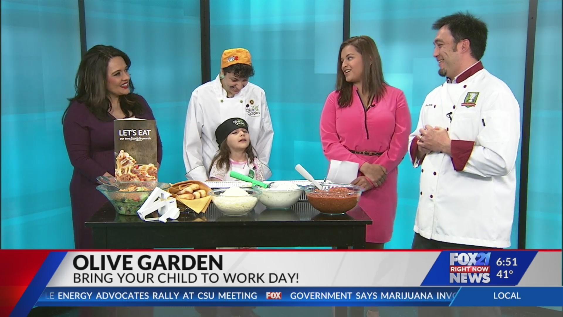 Olive Garden on FOX21 Morning News Part 1