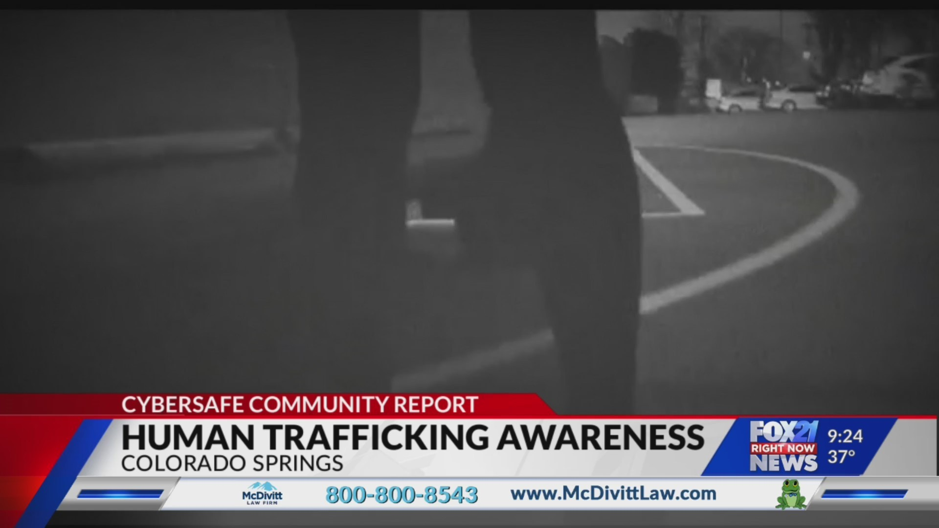 Cybersafe: Detecting Human Trafficking