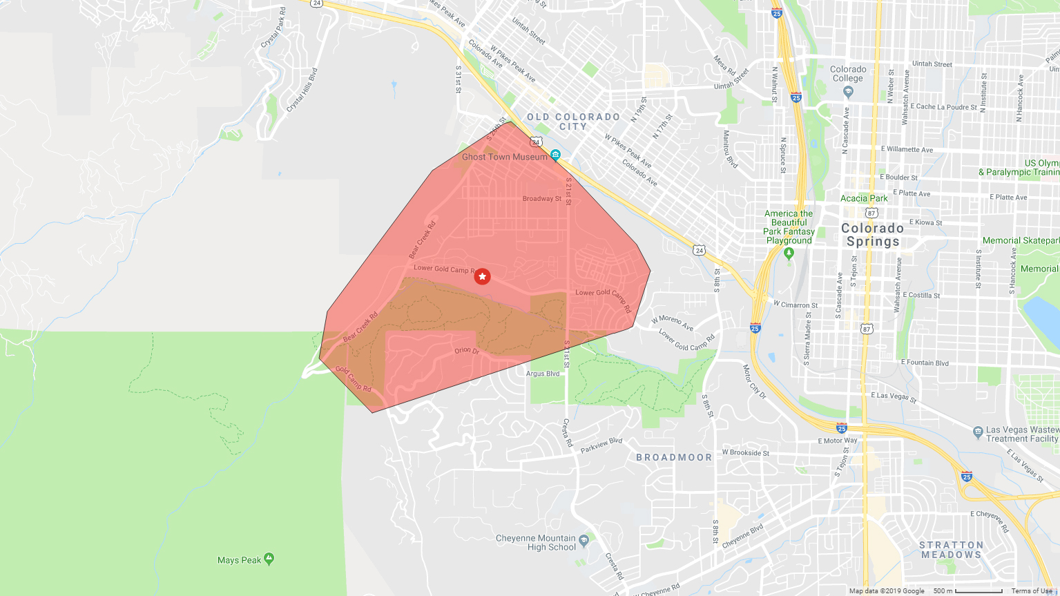 Power restored after outage in southwestern Colorado Springs