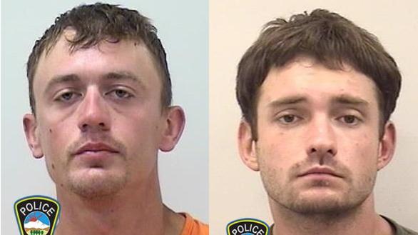 Trenton Hagan and John Warren / Colorado Springs Police Department