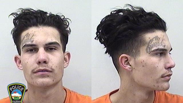 Noah Burton / Colorado Springs Police Department