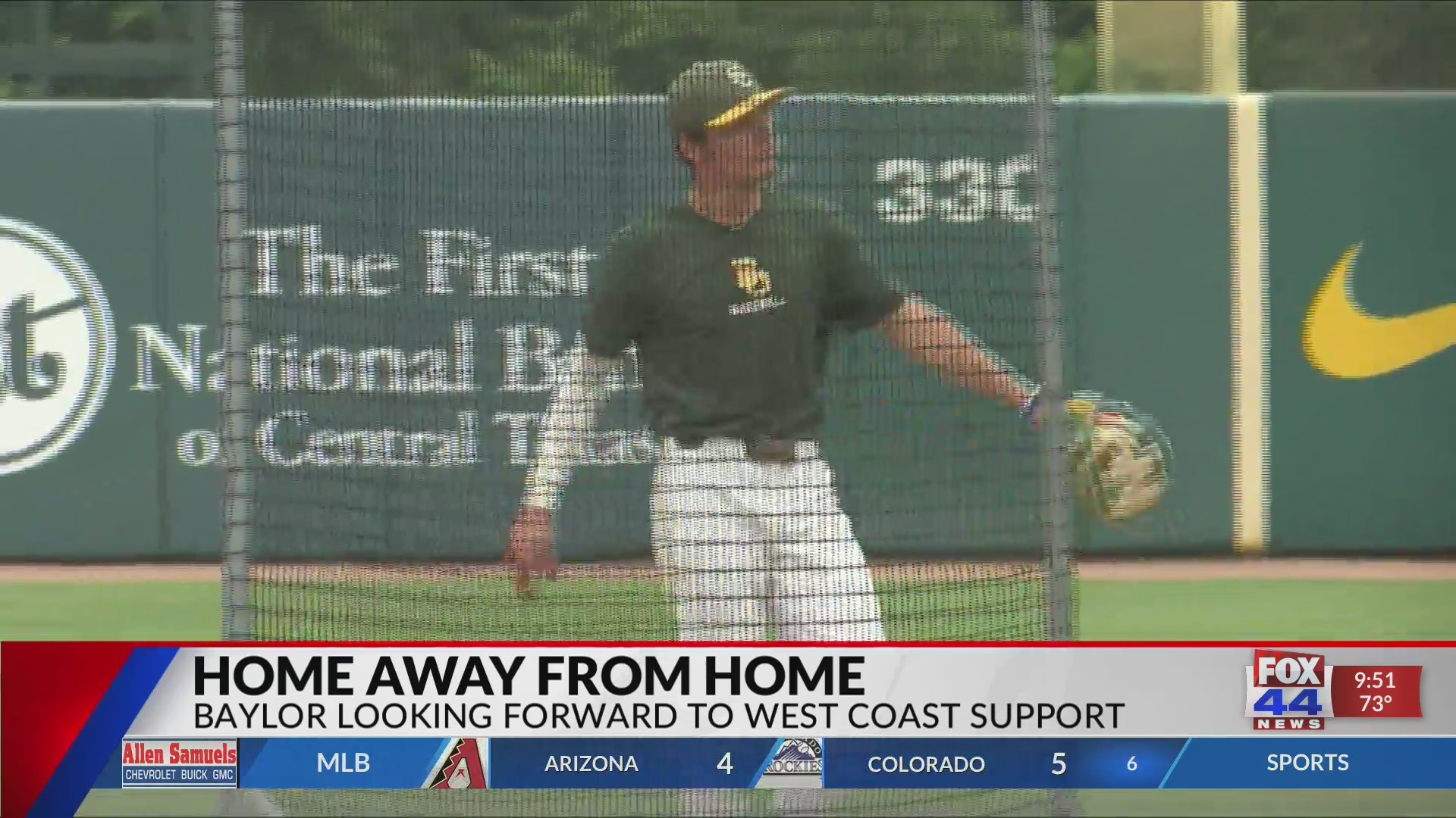 Baylor Baseball: Home Away from Home