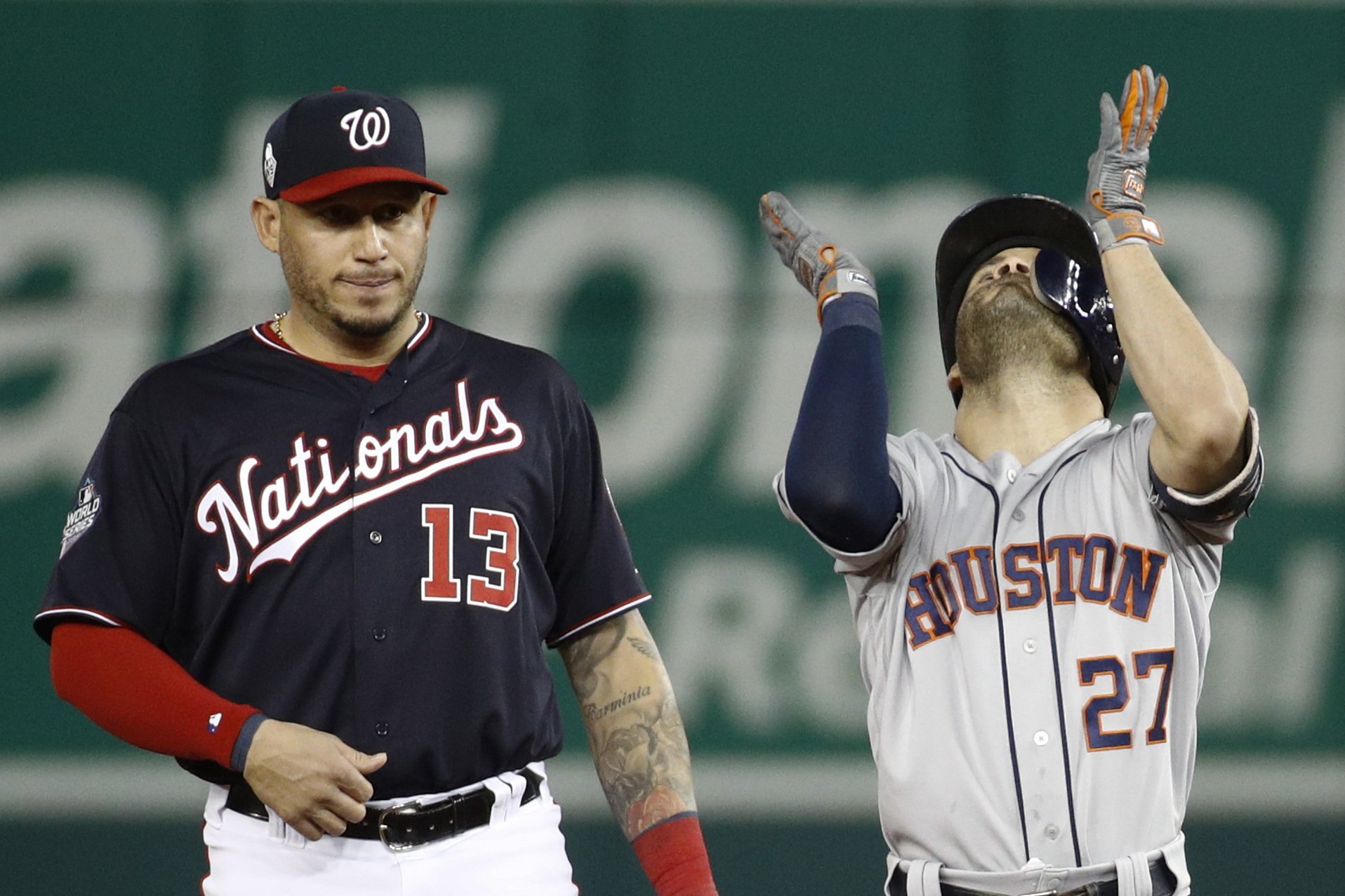 Altuve Astros >> Altuve Astros Show Up In World Series Win Game 3 In Dc 4 1