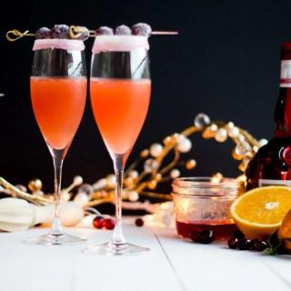 Cranberry Orange Cosmo